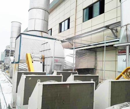 密闭气罩空气系统,热回收、风机、加热器